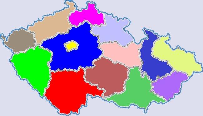 Kraje v Česku